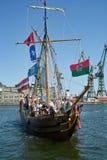 Baltiskt segla 2010. Royaltyfria Foton