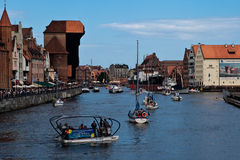 Baltiskt segla Gdansk 2009. Royaltyfria Bilder
