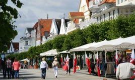 baltiskt semesterorthav royaltyfria foton
