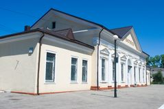 Baltiysk railway station Stock Image