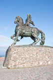 BALTIYSK, RUSSIA - September 18.2008: Monument to Empress Elisab Stock Photo