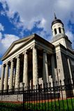 Baltmore, MD :1821巴尔的摩大教堂 免版税库存图片