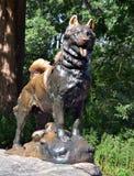 Balto. Statue of Balto in Central Park New York Stock Image