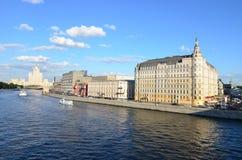 Baltschug (Balchug) Kempinski hotel in Moscow Stock Photography