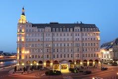 Baltschug Kempinski hotel in Moscow Royalty Free Stock Photos