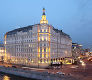 Baltschug Kempinski hotel in Moscow Royalty Free Stock Images
