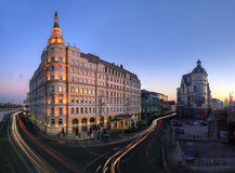 Baltschug Kempinski Hotel in Moscow. Russia Royalty Free Stock Photos