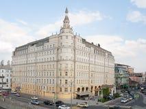 Baltschug Kempinski hotell som bygger 17 05 2018 Royaltyfri Foto