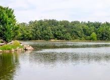 baltz jezioro Zdjęcie Stock