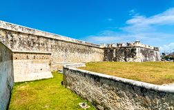 Baluarte De San Francisco in Campeche, Mexiko lizenzfreies stockfoto