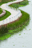 Baluster. Stone baluster by a lake in nanning of China stock photos