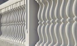 Baluster en balustrad Arkivbild