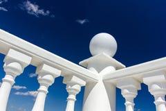 Baluster på räcket Royaltyfri Fotografi