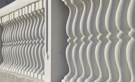 Baluster a parapet Stock Photography