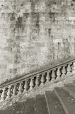 Baluster and staircase Royalty Free Stock Image