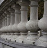 Baluster. Of the stairs of Pszczyna Castle, Poland stock photography