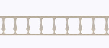 Baluster on a white background Stock Photos
