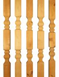 balusters деревянные Стоковое Изображение RF