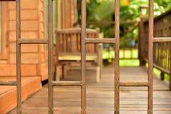 balusters деревянные стоковые фотографии rf
