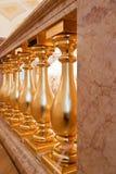 balusters золотистые Стоковое Фото