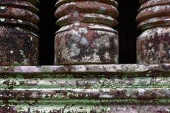 Balusters in Angkor-tempel Stock Afbeeldingen