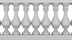 Balustrada royalty ilustracja