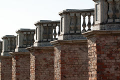 balustrada stara Zdjęcie Stock