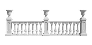 Balustrade Royalty Free Stock Photos