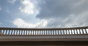 Balustrade balcony Royalty Free Stock Photos