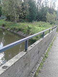 Balustrade of a bridge Royalty Free Stock Photos