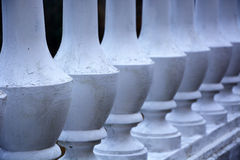 Balustrade. Close up detail with depth of field of balustrade Royalty Free Stock Photo