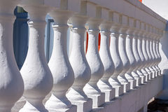 Balustrade close up Stock Photography
