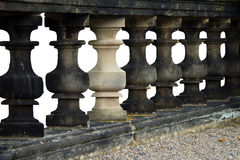 Balustrade, cut out Stock Photography