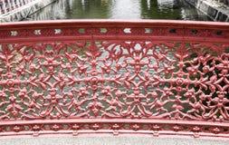 Balustrade de pont Photo stock