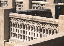 Balustrade en pierre Photographie stock