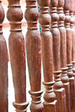 Balustrade fences Royalty Free Stock Photography