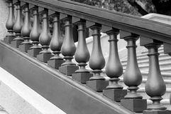 Balustrade monochrome Royalty Free Stock Photos