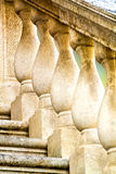 Balustrade. Old balustrade , architectural detail , closeup Stock Image