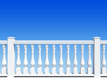 Balustrade with pillar Stock Images