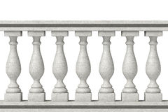 Balustrade Pillars Royalty Free Stock Photos