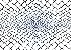 Balustrade steel pattern abstract background Royalty Free Stock Image