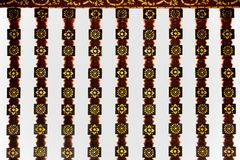 Balustrade of Thai Church at Wat Phra Sing - Chiang Rai, Thailand. Balustrade of Thai Church at Wat Phra Sing in Chiang Rai, Thailand royalty free stock photo