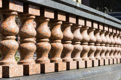 Balustrade wall Royalty Free Stock Photography