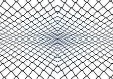 Balustradenstahlmuster-Zusammenfassungshintergrund Lizenzfreies Stockbild