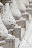 Balustrades blanches Photos stock