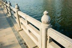 Balustrades de pont images stock