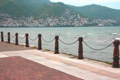 Balustrades, mer et balustrades nautiques photos stock