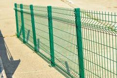 Balustrades vertes Photos libres de droits