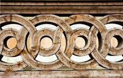 Balustre en pierre de dessin Photographie stock