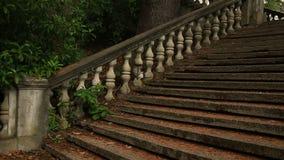 Balustres de vintage Escalier du vieux palais clips vidéos